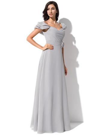 free flowing bridesmaid dresses
