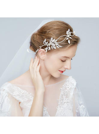 Gorgeous Alloy Headbands With Rhinestone/Venetian Pearl/Crystal (Sold in single piece)
