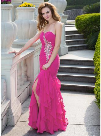 mermaid sparkly prom dresses