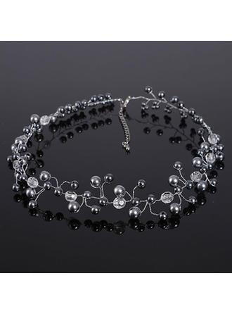 Halsketten Strasssteine/Faux-Perlen Strass/Faux-Perlen Karabiner Damen Hochzeits- & Partyschmuck