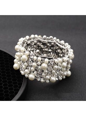 "Bracelets Alloy/Rhinestones Ladies' Fashional 1.22 ""(Approx.3.1cm) Wedding & Party Jewelry"
