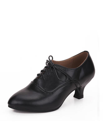 Women's Practice Real Leather Dance Shoes