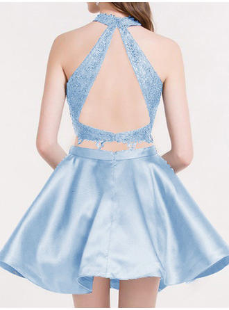 cheap aqua homecoming dresses 2018