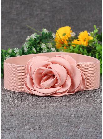 Mode Chiffon Gürtel mit Blume