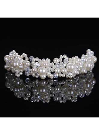 "Headbands Wedding/Special Occasion Alloy/Imitation Pearls 8.27""(Approx.21cm) 1.57""(Approx.4cm) Headpieces"