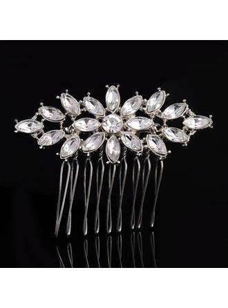"Combs & Barrettes Wedding/Special Occasion Alloy/Imitation Pearls 2.36""(Approx.6cm) 1.89""(Approx.4.8cm) Headpieces"
