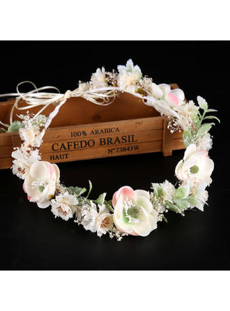 "Headbands Wedding/Special Occasion Silk Flower 19.7""(Approx.50cm) 1.97""(Approx.5cm) Headpieces"