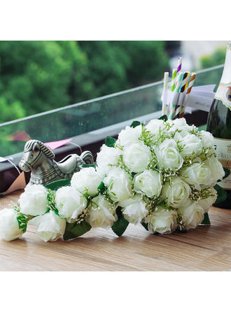 "Bridal Bouquets Cascade Wedding/Party Satin 8.66""(Approx.22cm) Wedding Flowers"