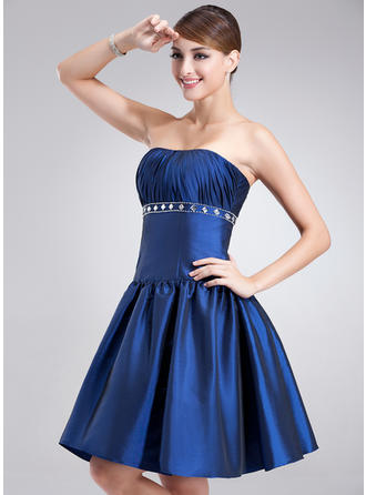 Delicate A-Line/Princess Taffeta Cocktail Dresses