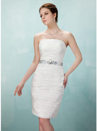 Elegant Sheath/Column Taffeta Cocktail Dresses