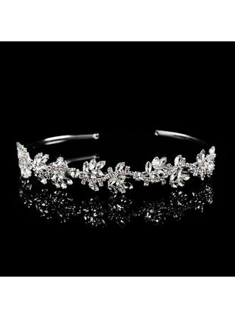 Tiaras Wedding/Special Occasion/Party/Carnival Rhinestone/Alloy Gorgeous Ladies Headpieces