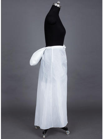 Bustle Ankle-length Taffeta A-Line Slip 1 Tiers Petticoats