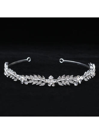 "Tiaras Wedding/Special Occasion Rhinestone/Alloy 5.53""(Approx.14cm) 0.71""(Approx.1.8cm) Headpieces"