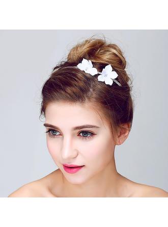 Glamour Cristal/Alliage/Tissu Bandeaux