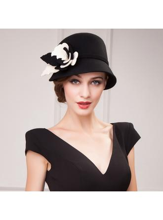 Wool Bowler/Cloche Hat Elegant Ladies' Hats