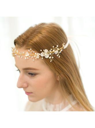 Elegant Rhinestone/Alloy/Freshwater Pearl Forehead Jewelry/Headbands