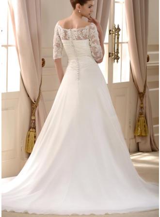 blush pink and white wedding dresses