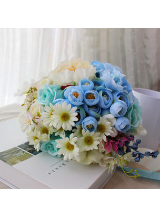 "Bridal Bouquets Round Wedding 10.24""(Approx.26cm) 10.24""(Approx.26cm) Wedding Flowers"