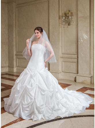 long sleeve tulle wedding dresses