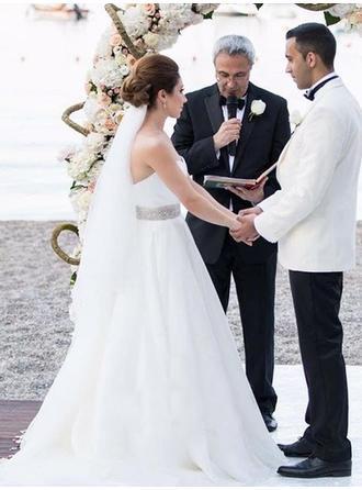 chiffon wedding dresses for beach wedding