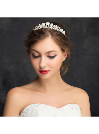 "Tiaras Wedding/Special Occasion/Party Rhinestone/Alloy 5.91""(Approx.15cm) 1.14""(Approx.2.9cm) Headpieces"