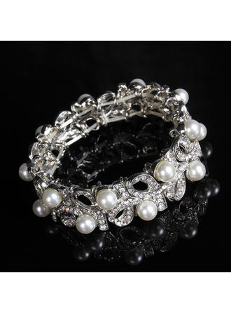 "Bracelets Alloy/Rhinestones/Imitation Pearls Ladies' Fashional 2.36""(Approx.6cm) Wedding & Party Jewelry"
