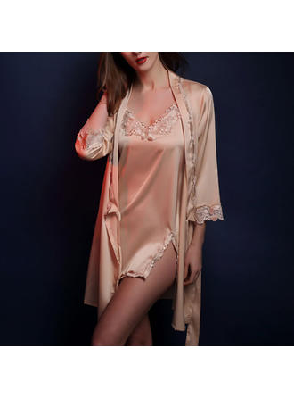 Pizzo/Seta Nuziale/Femminile/Moda Set lingerie