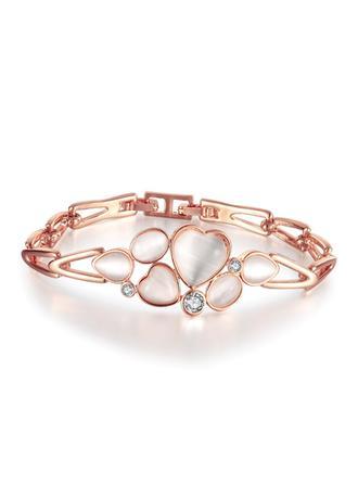 Mooi Tsjechische Stenen/Vergulde Dames Armbanden