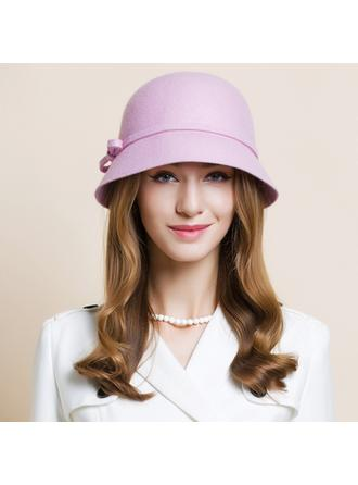 Wool Bowler/Cloche Hat Eye-catching Ladies' Hats