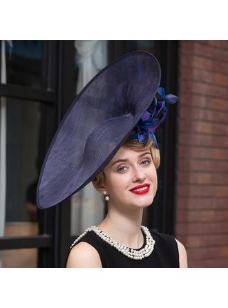 Net Yarn Bowler/Cloche Hat Elegant Ladies' Hats