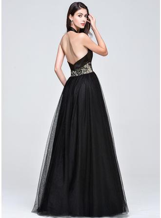 one shoulder crystal beaded prom dresses
