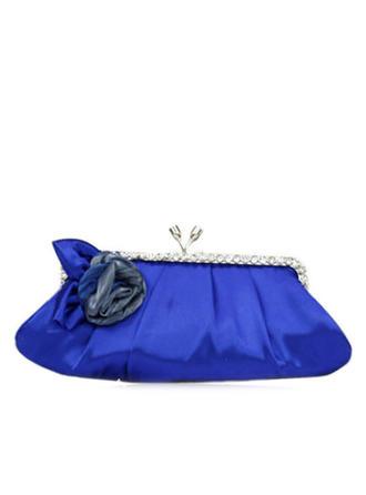 Elegant Satin mit Blume/Strass Handtaschen