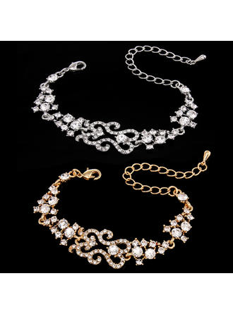"Bracelets Alloy/Rhinestones Ladies' Elegant 8.66""(Approx.22cm) Wedding & Party Jewelry"