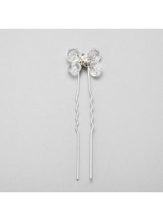 "Hairpins Wedding/Special Occasion/Party Crystal/Rhinestone/Alloy 2.36""(Approx.6cm) 0.67""(Approx.1.7cm) Headpieces"