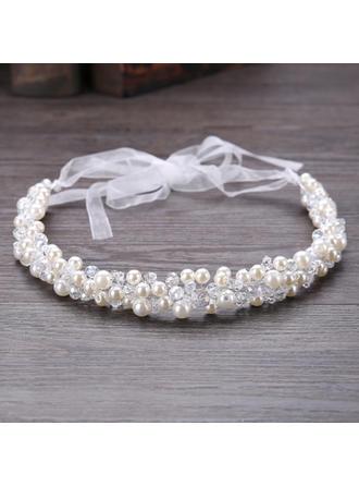 Beautiful Crystal/Imitation Pearls Headbands (Sold in single piece)