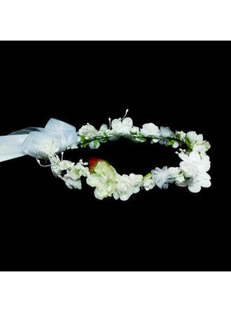 """Blumen Mädchen Kopfstück Hochzeit Kunstseide 9.84""""(Ungefähre 25cm) 9.84""""(Ungefähre 25cm) Kopfschmuck"""