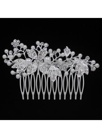 "Combs & Barrettes Wedding/Special Occasion/Party Alloy 3.54""(Approx.9cm) 2.17""(Approx.5.5cm) Headpieces"