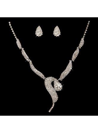"Jewelry Sets Alloy/Rhinestones Pierced Exquisite 13.4""- 18.1""(Approx.34cm-46cm) Wedding & Party Jewelry"