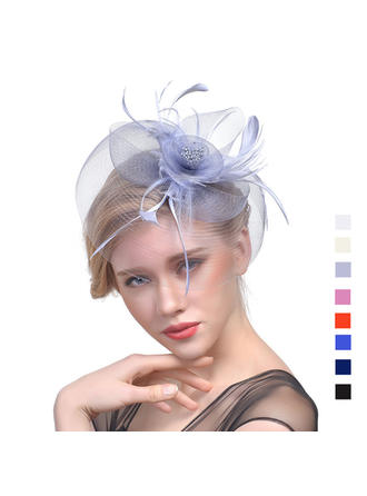 Cambric With Feather Fascinators Classic Ladies' Hats (196194671)