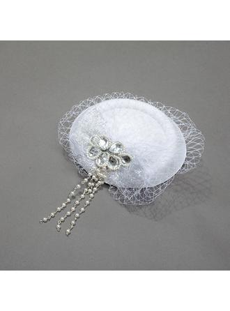 Net Yarn Fascinators Vintage Ladies' Hats