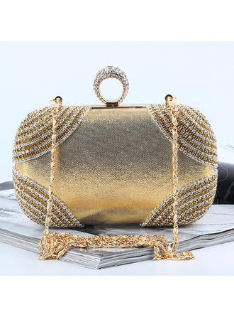 "Clutches/Satchel Wedding/Ceremony & Party Crystal/ Rhinestone Fashional 6.69""(Approx.17cm) Clutches & Evening Bags (012187255)"