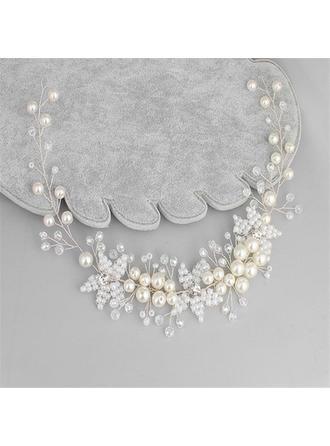 Schöne Kristall/Faux-Perlen Stirnbänder (In Einem Stück Verkauft)