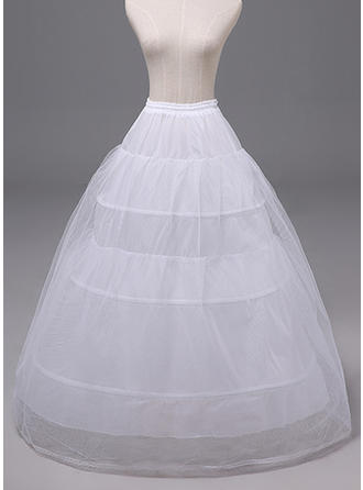 Jupons Polyester Combinaison pour robe de bal 2 couches Mariage Jupons (037120400)