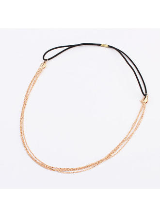 "Headbands Special Occasion/Casual/Outdoor/Party Alloy 22.44""(Approx.57cm) 1.18""(Approx.3cm) Headpieces"