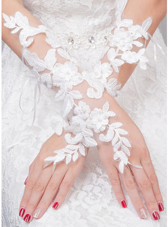 Tulle Ladies' Gloves Bridal Gloves Fingerless 30cm(Approx.11.81inch) Gloves (014192235)