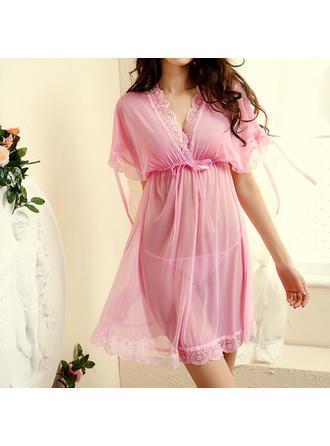 Sleepwear Sets Casual Bridal/Feminine/Fashion Chinlon Attractive Lingerie