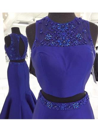 blue glitter prom dresses