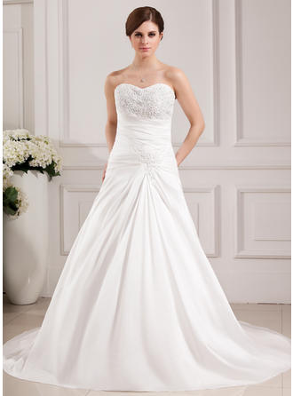 Taffeta Sweetheart Sleeveless - Magnificent Wedding Dresses