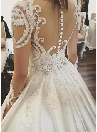 bling wedding dresses for bride 2018