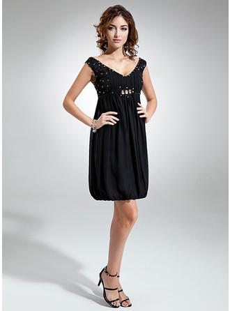 short blue sparkly homecoming dresses